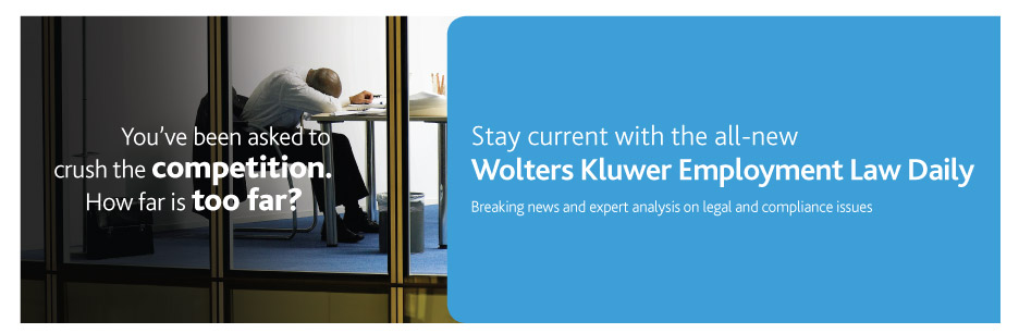 Wolters Kluwer Employment Law Daily